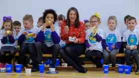 Healthy eating campaign for Scottish primary pupils relaunches