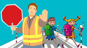 School road safety campaign launches make children THINK!