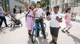 TfL and Sustrans Healthy Street Officers to reduce school-run traffic