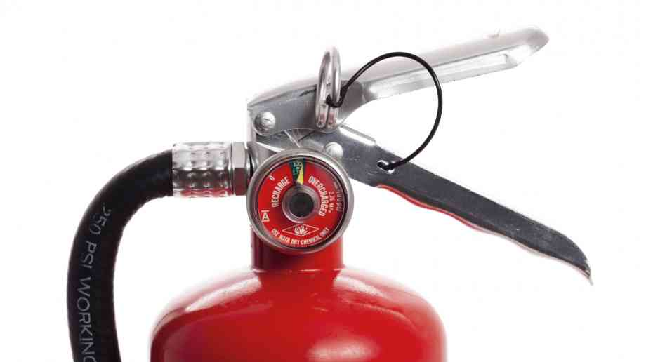 The hidden danger of fire extinguishers