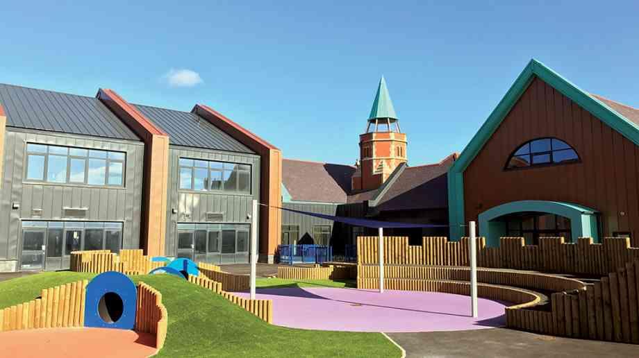 Better buildings for Welsh pupils