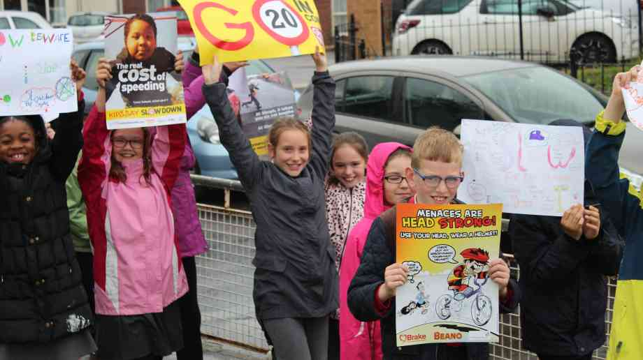 Primary school road-safety project launched by Brake | Education