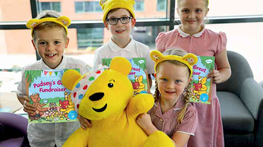 Bbc Children In Need S Pudsey Stars In Free Book For Primary