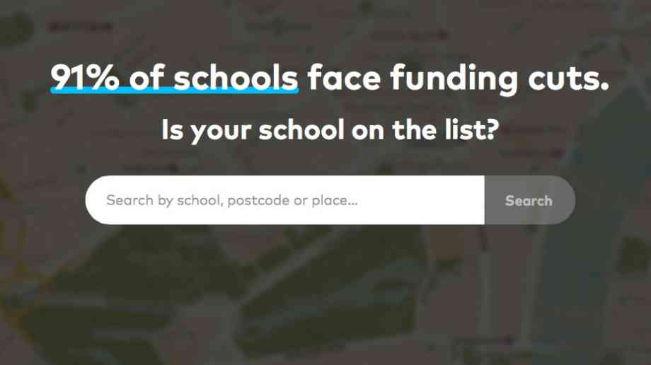 James Cleverly MP asks for School Cuts website to be taken down